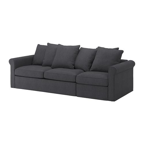 GRÖNLID - 3-seat sofa-bed, Sporda dark grey | IKEA Hong Kong and Macau - PE690231_S4
