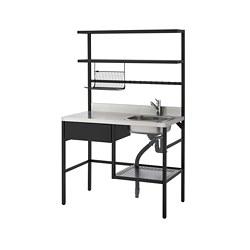 RÅVAROR - mini-kitchen, black | IKEA Hong Kong and Macau - PE788008_S3