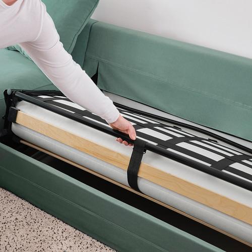 GRÖNLID 5座位角位梳化床