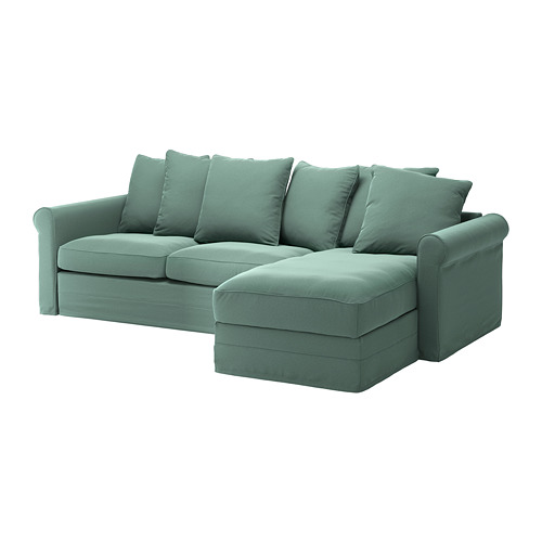 GRÖNLID cover for 3-seat sofa-bed