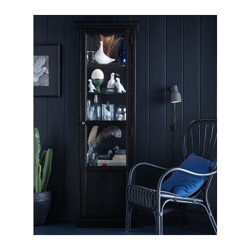 MALSJÖ - 玻璃門貯物櫃, 染黑 | IKEA 香港及澳門 - PH129033_S4