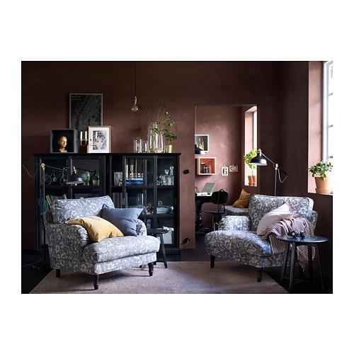 MALSJÖ - glass-door cabinet, black stained   IKEA Hong Kong and Macau - PH145986_S4