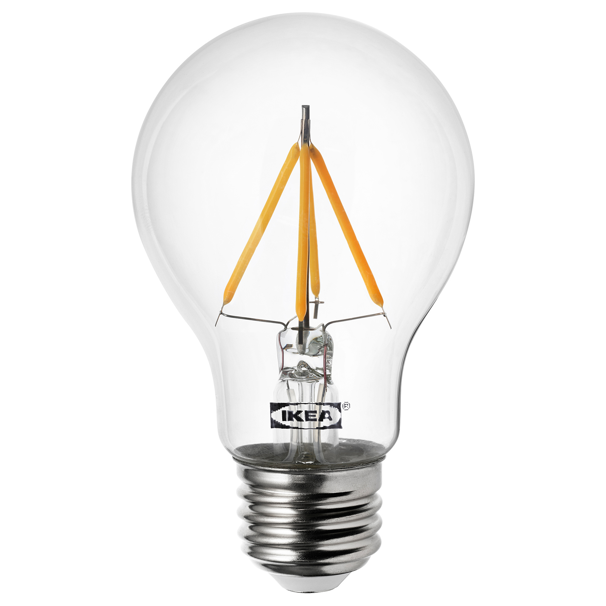 IKEA RYET LED bulb E27 470 lumen globe opal white