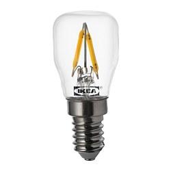 RYET - LED 燈膽 E14 80流明, 透明 | IKEA 香港及澳門 - PE733514_S3