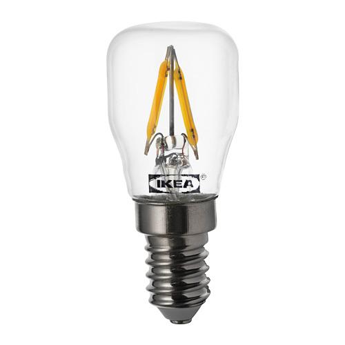 RYET - LED 燈膽 E14 80流明, 透明 | IKEA 香港及澳門 - PE733514_S4