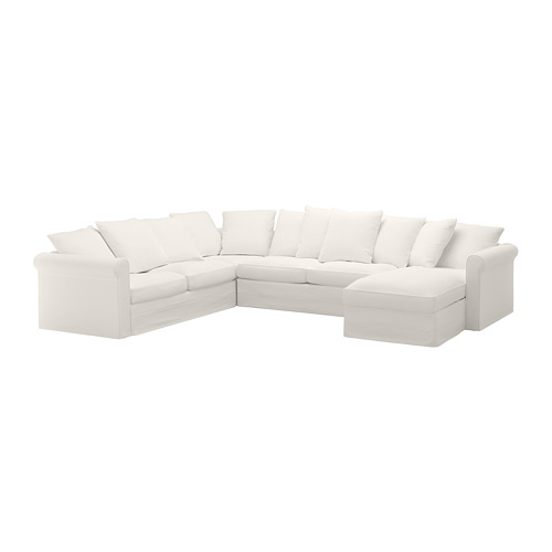 GRÖNLID cover for corner sofa-bed, 5-seat