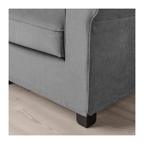 GRÖNLID - 扶手椅, Ljungen 暗灰色 | IKEA 香港及澳門 - PE690441_S4