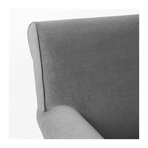 GRÖNLID - 扶手椅, Ljungen 暗灰色 | IKEA 香港及澳門 - PE690442_S4