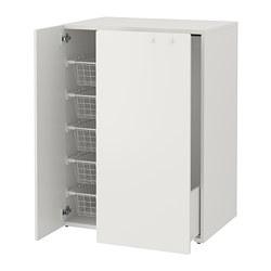 SMÅSTAD - 拉出式抽屜衣櫃組合, 白色 | IKEA 香港及澳門 - PE788067_S3