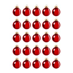 VINTER 2020 - 裝飾品, 玻璃 紅色 | IKEA 香港及澳門 - PE788111_S3