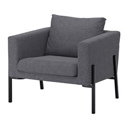 KOARP - armchair, Gunnared medium grey/black | IKEA Hong Kong and Macau - PE643209_S3