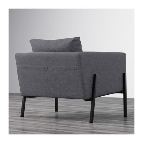KOARP - armchair, Gunnared medium grey/black | IKEA Hong Kong and Macau - PE643214_S4