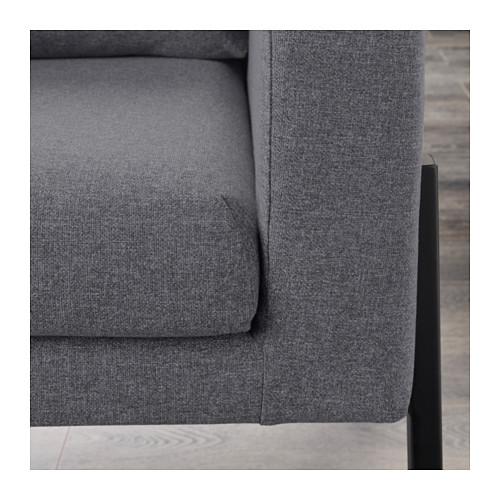 KOARP - armchair, Gunnared medium grey/black | IKEA Hong Kong and Macau - PE643213_S4