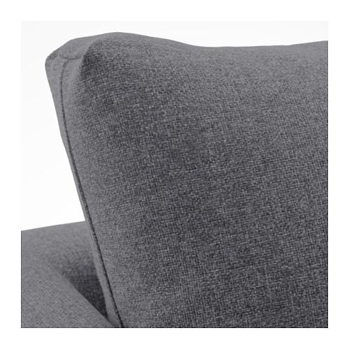 KOARP - armchair, Gunnared medium grey/black | IKEA Hong Kong and Macau - PE643211_S4