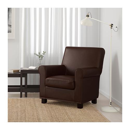 GRÖNLID - armchair, Kimstad dark brown | IKEA Hong Kong and Macau - PE690475_S4