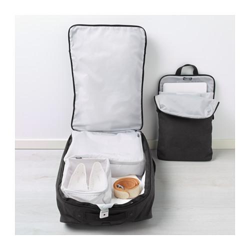 FÖRENKLA - 活輪行李箱連背包, 深灰色 | IKEA 香港及澳門 - PE643245_S4