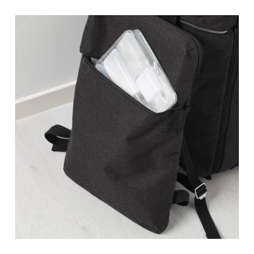 FÖRENKLA - 活輪行李箱連背包, 深灰色 | IKEA 香港及澳門 - PE643246_S4