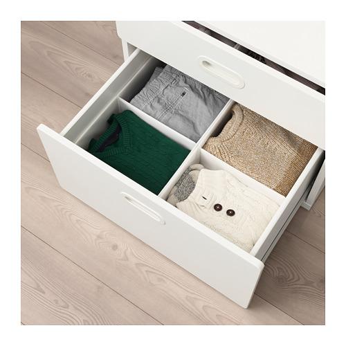 RASSLA - box with compartments, white | IKEA Hong Kong and Macau - PE690563_S4