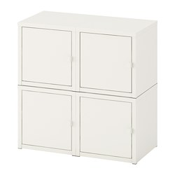 LIXHULT - wall-mounted cabinet combination, white | IKEA Hong Kong and Macau - PE690603_S3