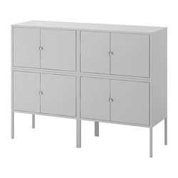 LIXHULT - cabinet combination, grey | IKEA Hong Kong and Macau - PE690616_S3
