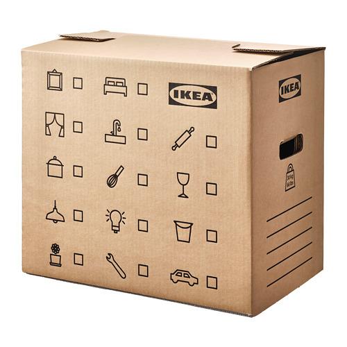 DUNDERGUBBE - 搬運箱, 褐色 | IKEA 香港及澳門 - PE788226_S4