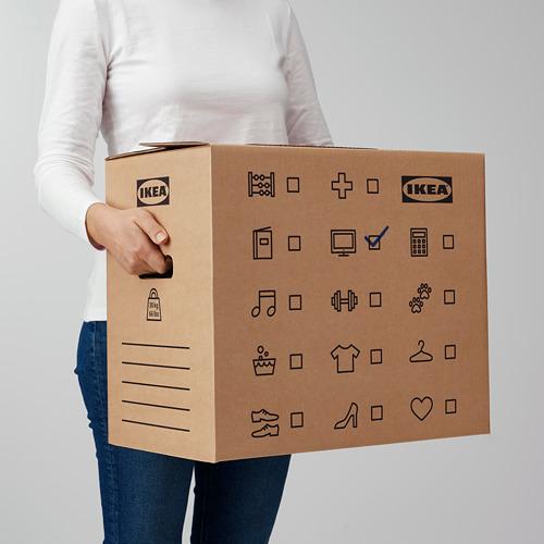 DUNDERGUBBE - 搬運箱, 褐色 | IKEA 香港及澳門 - PE788229_S4