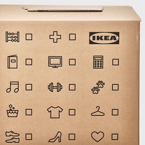 DUNDERGUBBE - 搬運箱, 褐色 | IKEA 香港及澳門 - PE788228_S4