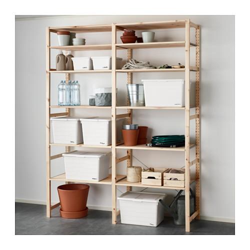 SOCKERBIT - 連蓋箱, 白色 | IKEA 香港及澳門 - PE643448_S4