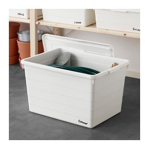 SOCKERBIT - 連蓋箱, 白色 | IKEA 香港及澳門 - PE643450_S4