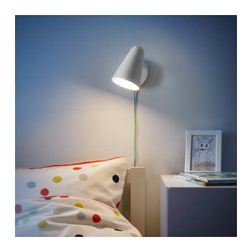 FUBBLA - LED wall lamp, white | IKEA Hong Kong and Macau - PE643454_S4