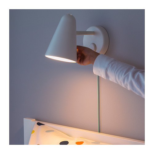 FUBBLA - LED wall lamp, white | IKEA Hong Kong and Macau - PE643455_S4