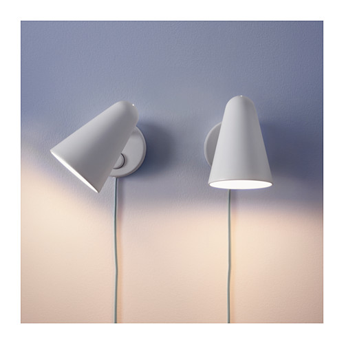 FUBBLA - LED wall lamp, white | IKEA Hong Kong and Macau - PE643456_S4