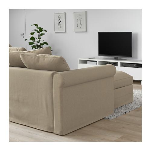 GRÖNLID 3-seat sofa-bed