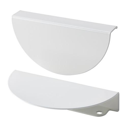 BEGRIPA - handle, white/half-round | IKEA Hong Kong and Macau - PE775706_S4