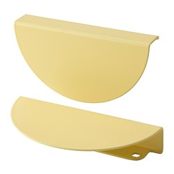 BEGRIPA - handle, yellow/half-round | IKEA Hong Kong and Macau - PE775707_S3