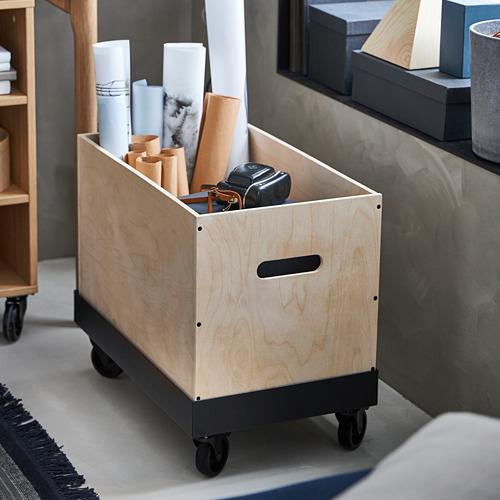 RÅVAROR - 活動几, 34x57x17 cm, 黑色 | IKEA 香港及澳門 - PE788273_S4