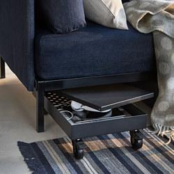 RÅVAROR - trolley, 34x57x17 cm, black | IKEA Hong Kong and Macau - PE788272_S3