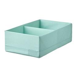 STUK - box with compartments, width 20 x depth 34 x height 10cm, light turquoise   IKEA Hong Kong and Macau - PE788279_S3
