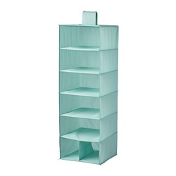 STUK - 七格貯物袋, 淺湖水綠色 | IKEA 香港及澳門 - PE788284_S3