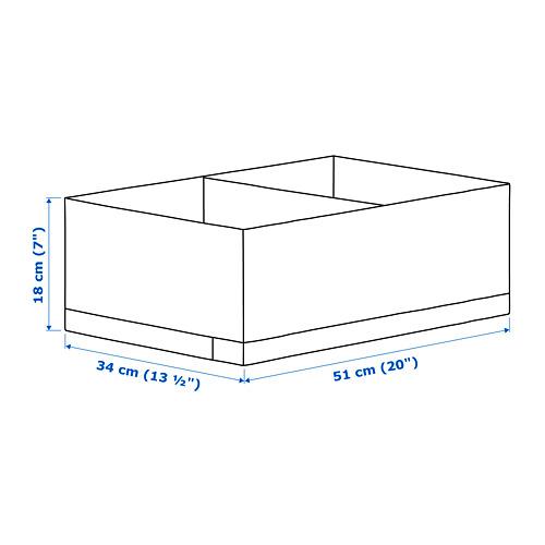 STUK 分格貯物箱, 闊34cm