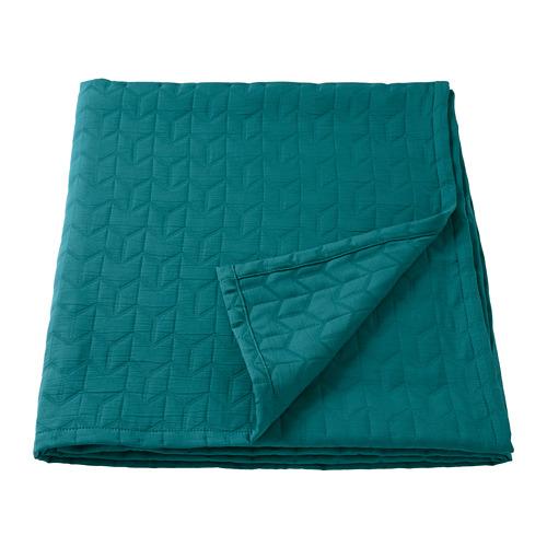 KÖLAX - bedspread, dark green   IKEA Hong Kong and Macau - PE733853_S4