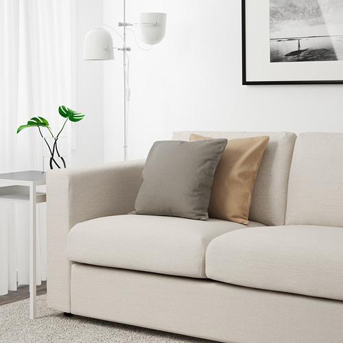 VIMLE - 三座位梳化, Gunnared 米黃色 | IKEA 香港及澳門 - PE641673_S4