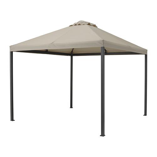HIMMELSÖ - gazebo, dark grey/grey-beige | IKEA Hong Kong and Macau - PE788310_S4