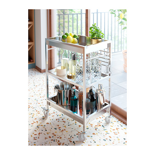KUNGSFORS - kitchen trolley, stainless steel | IKEA Hong Kong and Macau - PH154642_S4