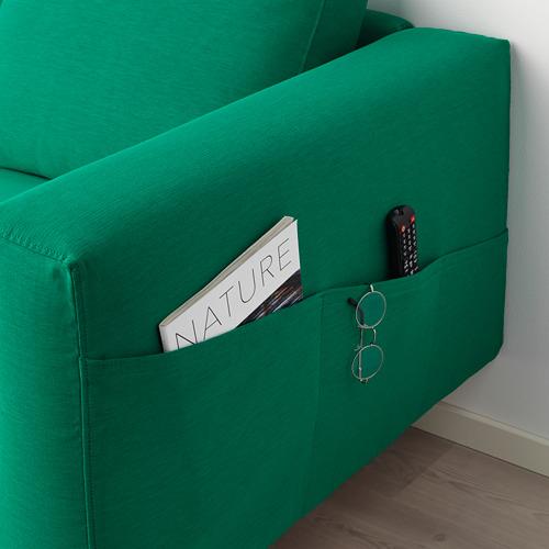 NORSBORG - 躺椅, Edum 鮮綠色/金屬 | IKEA 香港及澳門 - PE659343_S4