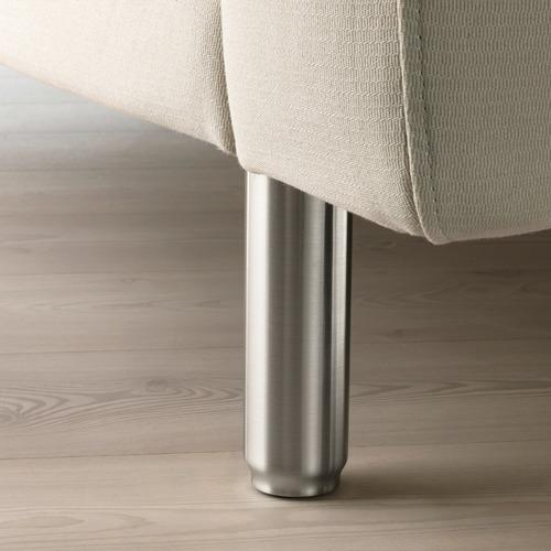 NORSBORG - 3-seat sofa, with chaise longue/Edum beige/metal | IKEA Hong Kong and Macau - PE659279_S4