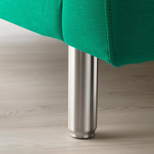 NORSBORG - 躺椅, Edum 鮮綠色/金屬 | IKEA 香港及澳門 - PE659342_S4