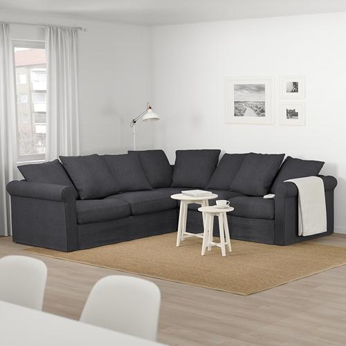GRÖNLID - corner sofa, 4-seat, Sporda dark grey | IKEA Hong Kong and Macau - PE674951_S4