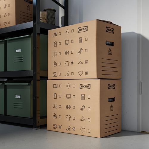 DUNDERGUBBE - 搬運箱, 褐色 | IKEA 香港及澳門 - PE788338_S4