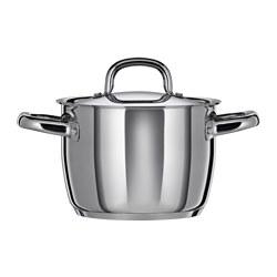OUMBÄRLIG - 連蓋鍋 3升, 不銹鋼 | IKEA 香港及澳門 - PE516729_S3